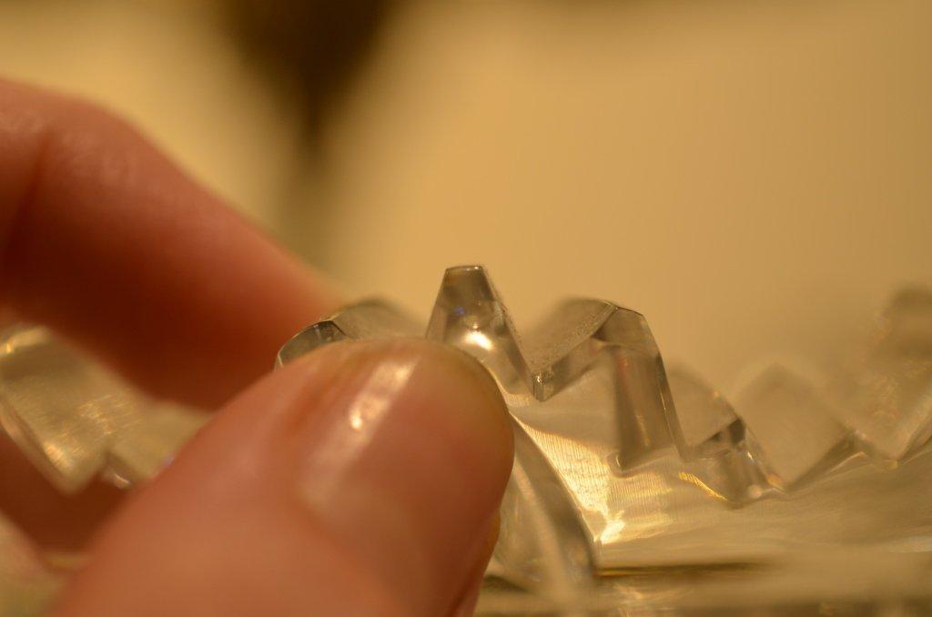 MONUMENTAL BRILLIANT CUT GLASS VASE - 5