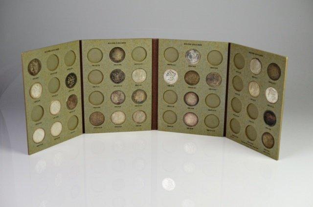 27 U.S. SILVER DOLLAR COINS (1878-1890)