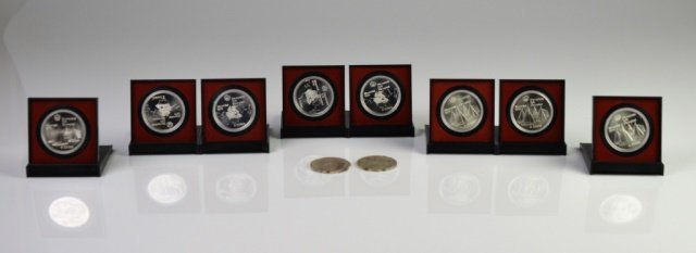 1976 CANADIAN $5 SILVER PROOFS & COINS