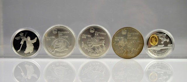 CANADIAN SILVER PROOF COINS & SILVER COIN
