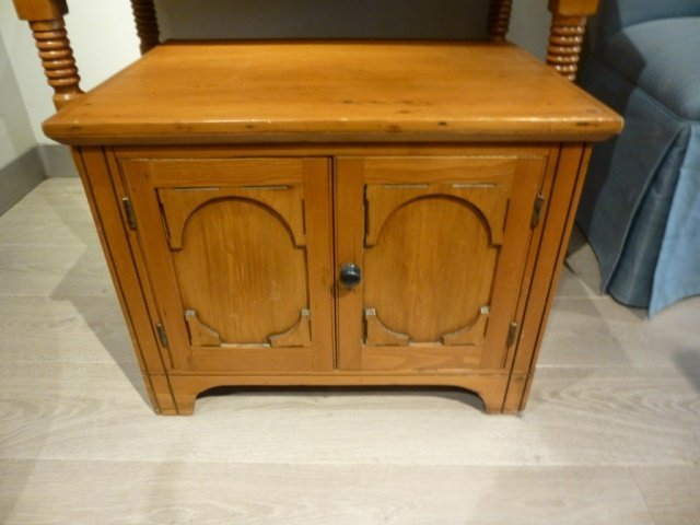 CANADIANA SMALL TWO DOOR CABINET