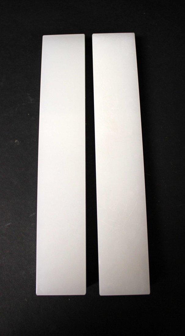 A APIR OF JADE PAPER WEIGHT - 2