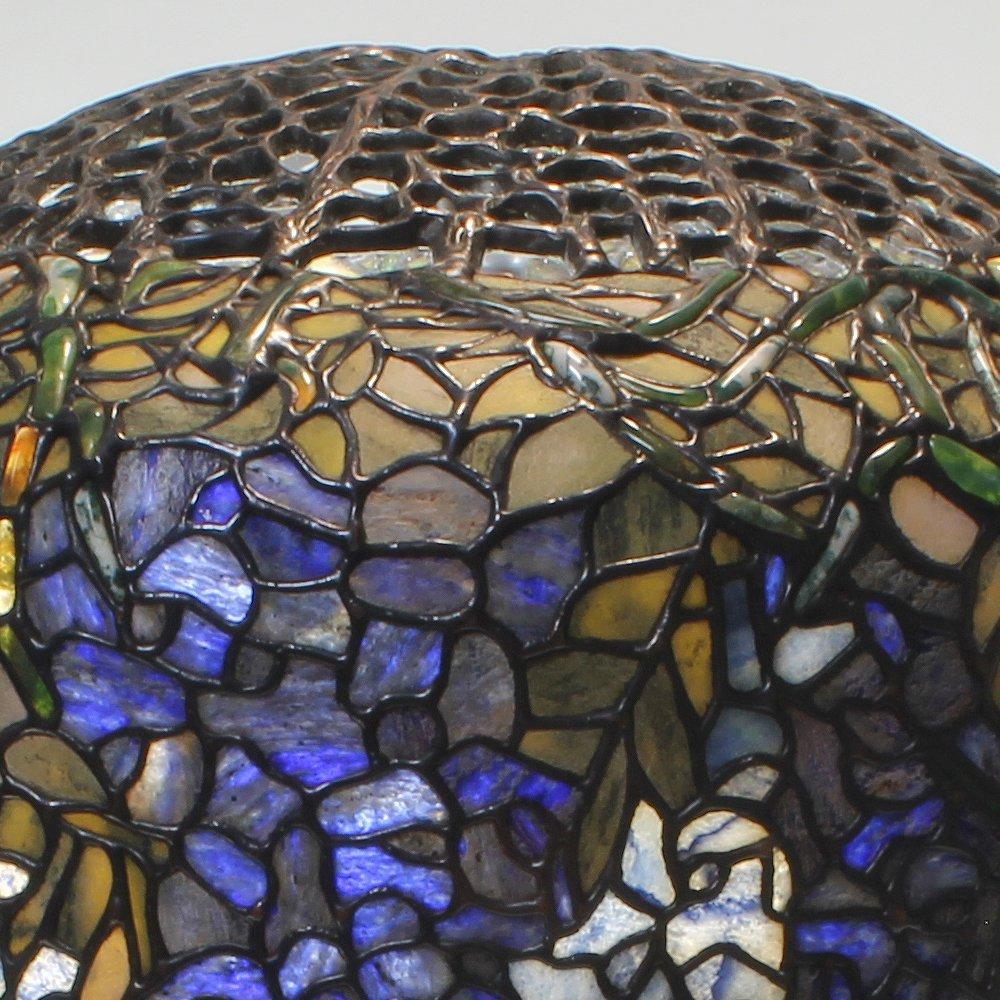 18-inch Wisteria Tiffany-Inspired Gemstone Table Lamp - 3