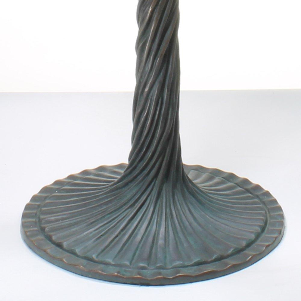 18-inch Wisteria Tiffany-Inspired Gemstone Table Lamp - 5