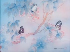 Johnny Lung Butterfly Watercolor Print