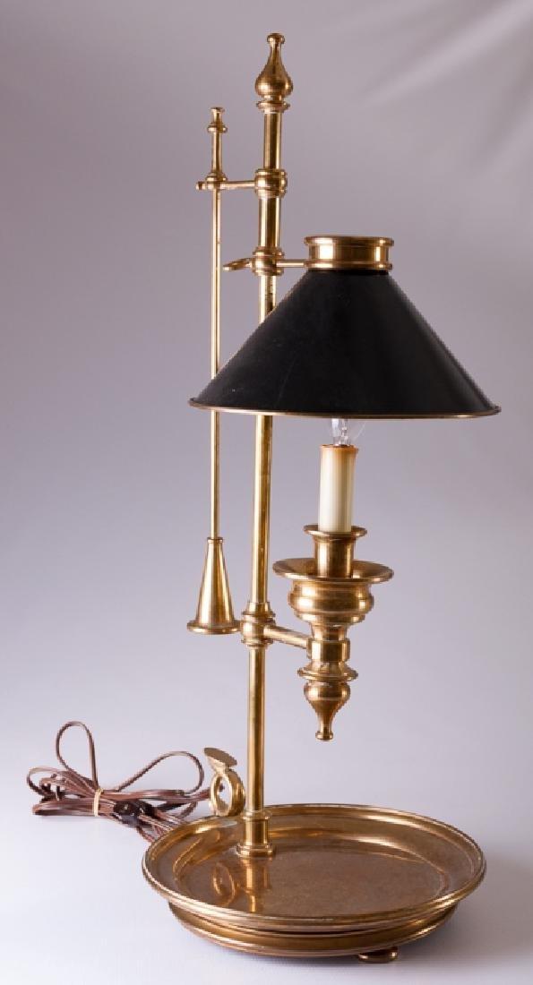 Chapman Chamber Stick Style Brass Lamp
