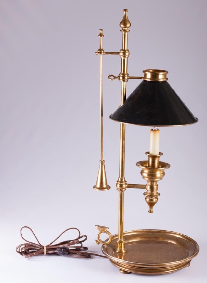 Chapman Chamber Stick Style Brass Lamp - 3