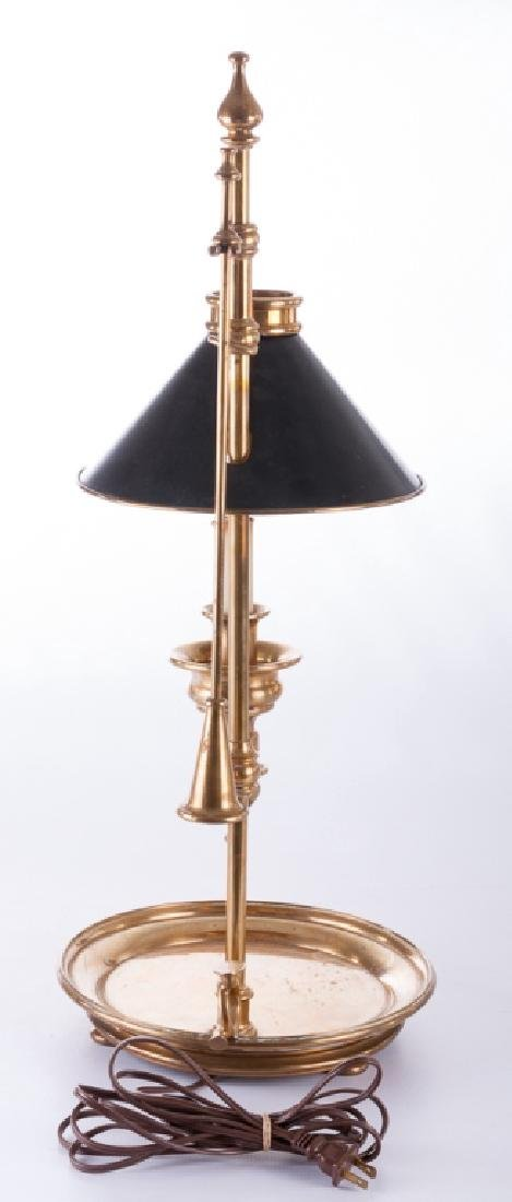 Chapman Chamber Stick Style Brass Lamp - 4