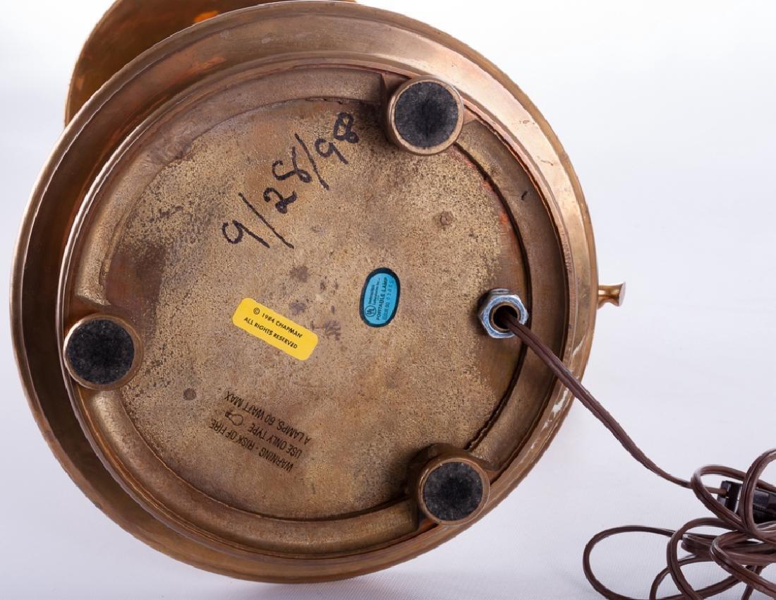 Chapman Chamber Stick Style Brass Lamp - 6