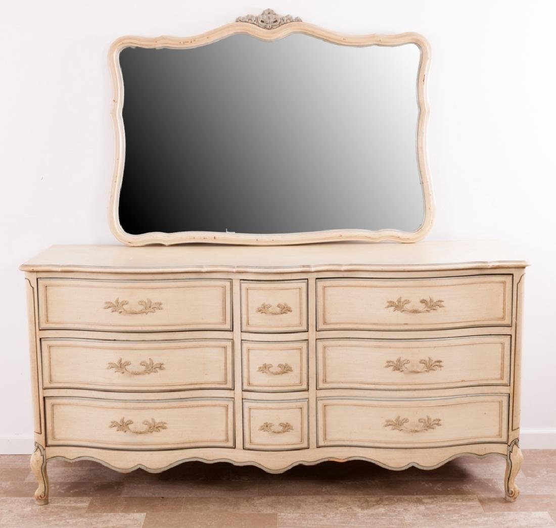 National of Mt. Airy N.C. Triple Dresser w/ Mirror