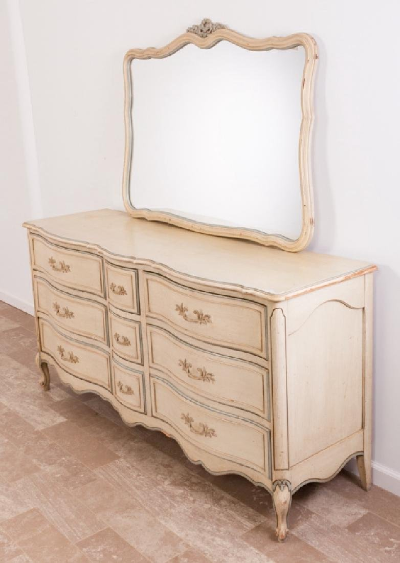 National of Mt. Airy N.C. Triple Dresser w/ Mirror - 3