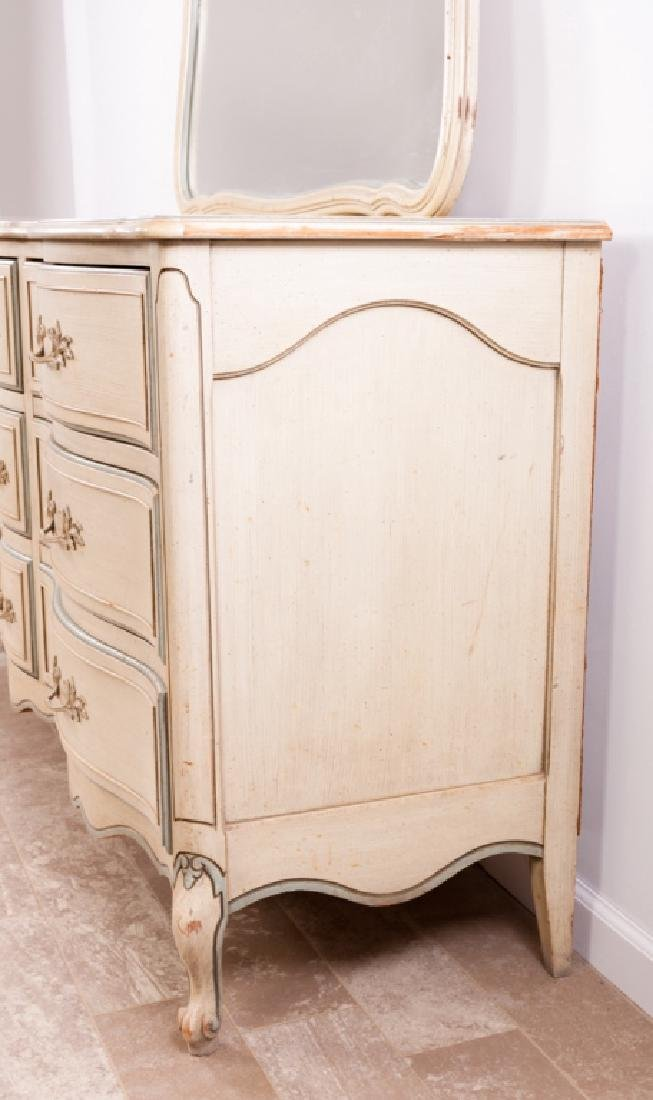 National of Mt. Airy N.C. Triple Dresser w/ Mirror - 6