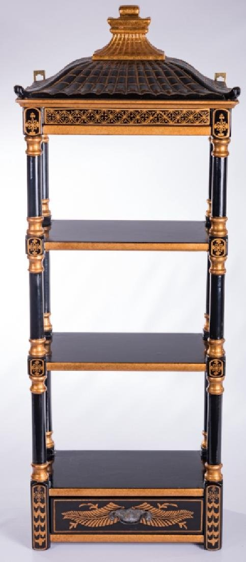 Chinoiserie Wall Hanging Etagere - 2