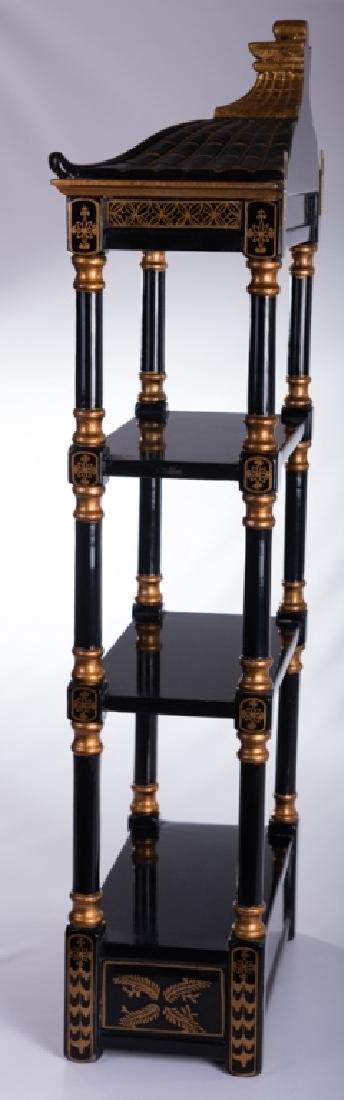 Chinoiserie Wall Hanging Etagere - 4