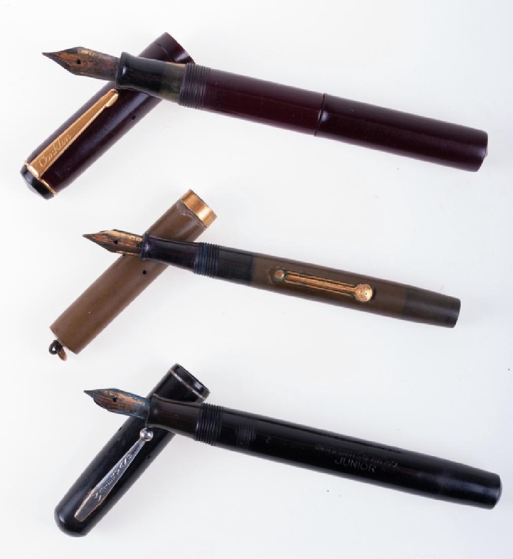 Vintage Waterman & Conklin Fountain Pens