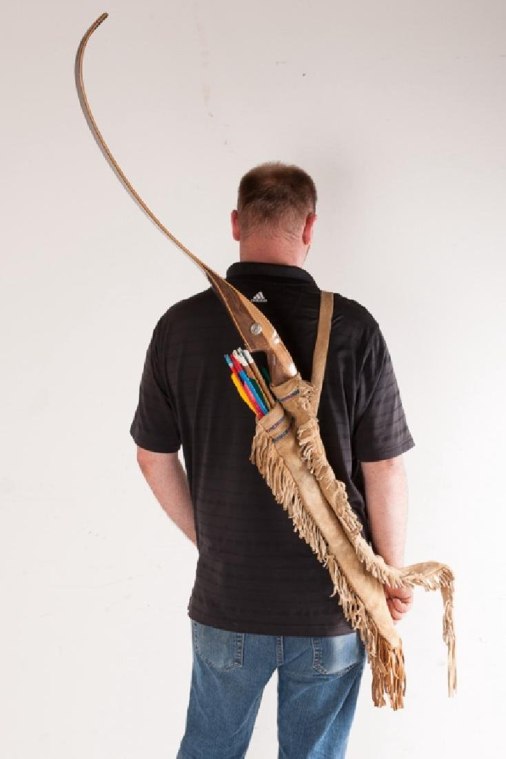 Sioux Beaded Quiver and Bow Case