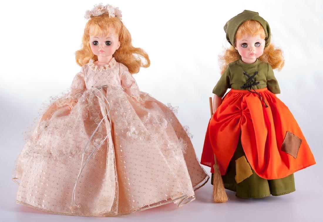 Madame Alexander Cinderella Doll Duo