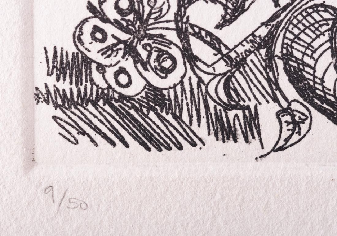 """Picasso """"Odalisque en Pantoufles au Chapeau"""" #9/50 - 4"""