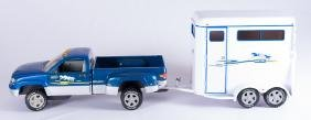 Breyer Traditional Truck and Two Horse Trailer