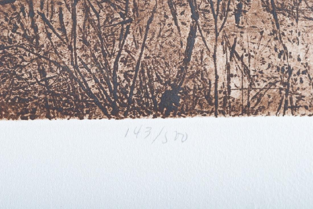 """Ann DerGara """"Tranquil Shores"""" Signed Etching - 4"""