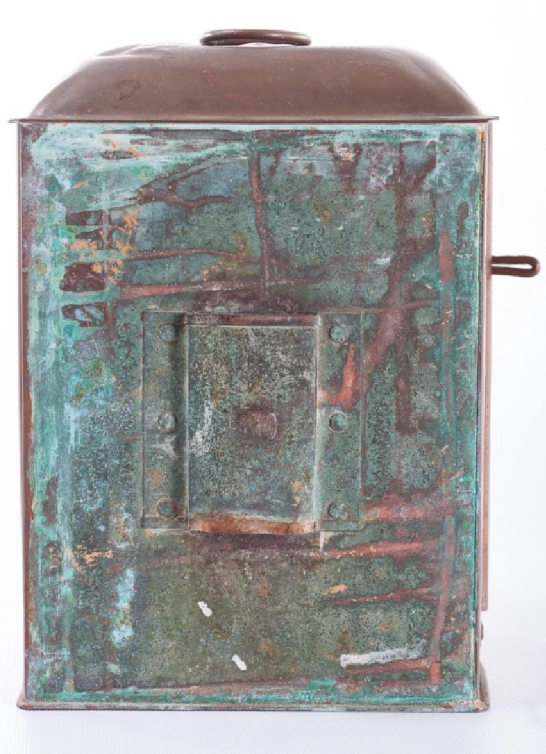"""Perko"" Perkins Vintage Brass Ship Lantern - 4"