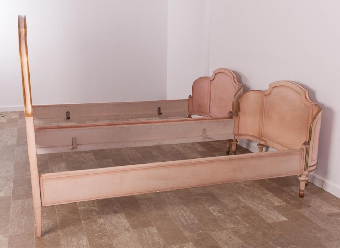 Marcel Tartaglia Louis XVI Style Twin Bed Pair - 3