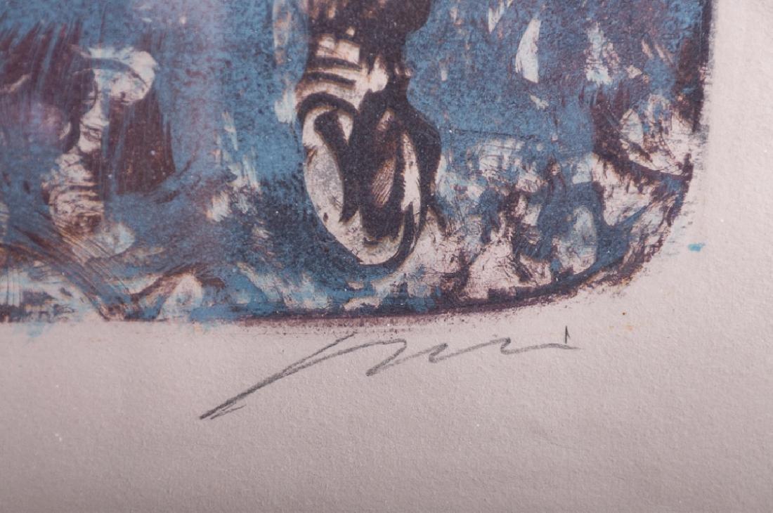 """Hans Erni """"Solomon's Horses"""" Signed Lithograph - 4"""