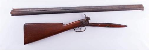 Whitney Arms Double Barrel Gun