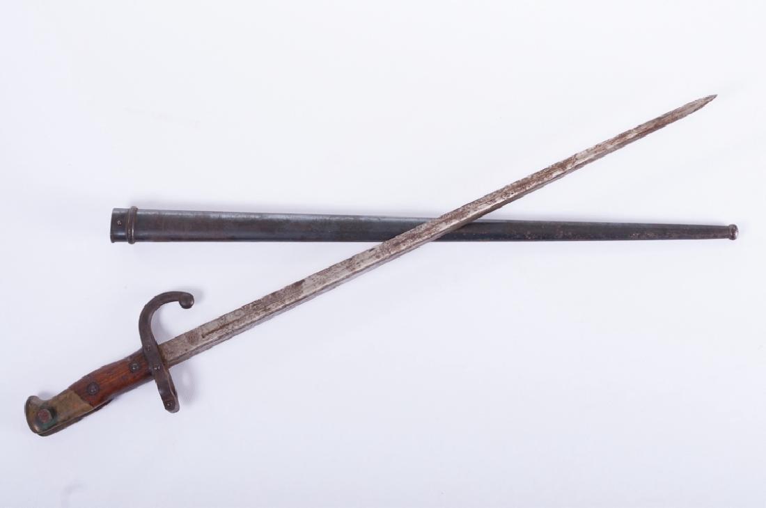 Deny Arsenal 1881 French Gras Bayonet