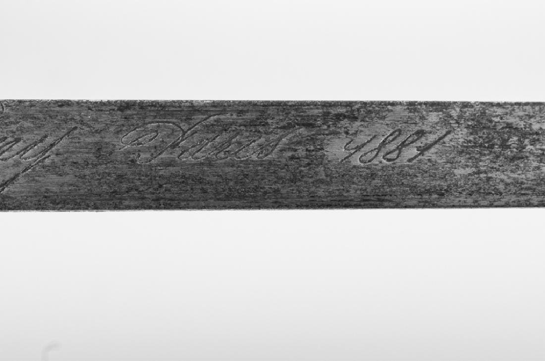 Deny Arsenal 1881 French Gras Bayonet - 4