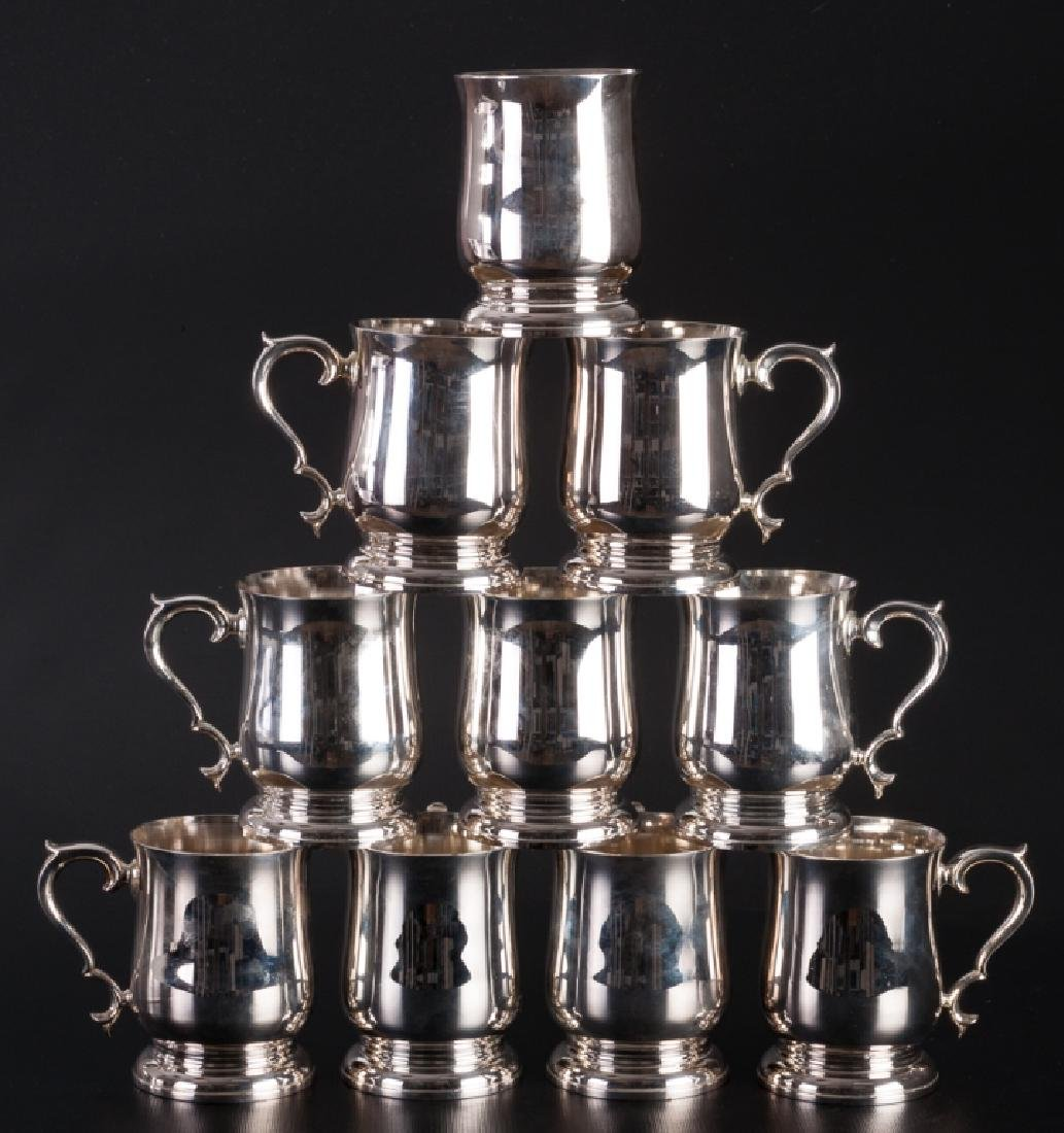 Williamsburg Lenox Pewter Tankards Group