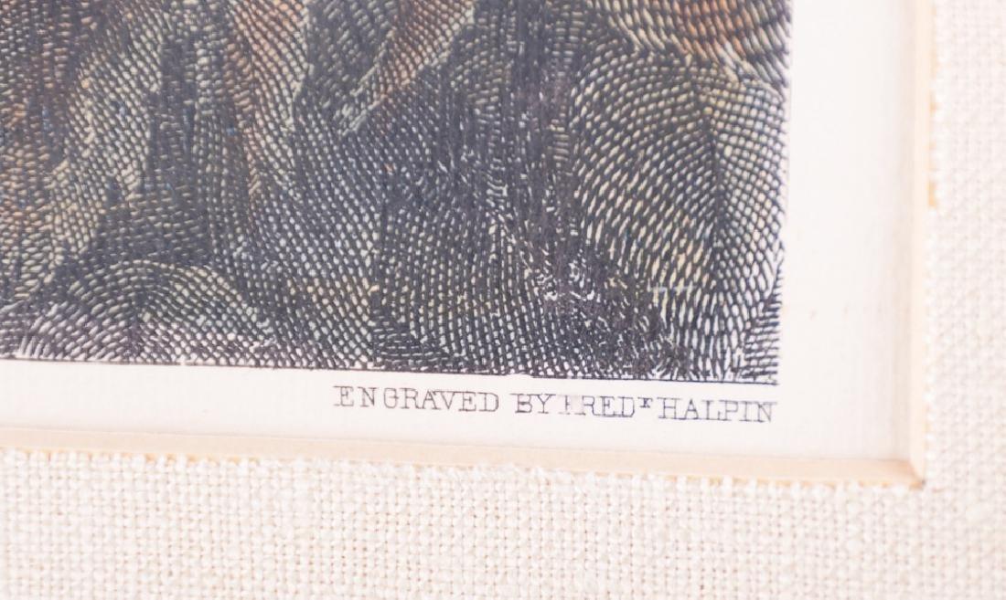 "E.B.D. Julio ""The Last Meeting"" Civil War Print - 3"
