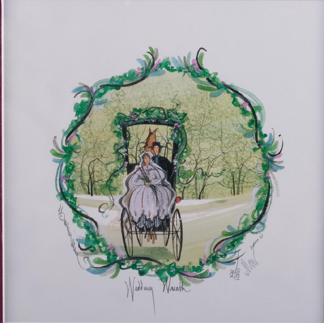 "P. Buckley Moss ""Wedding Wreath"" 398/1000"