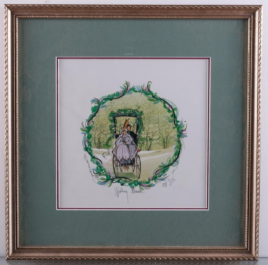 "P. Buckley Moss ""Wedding Wreath"" 398/1000 - 2"