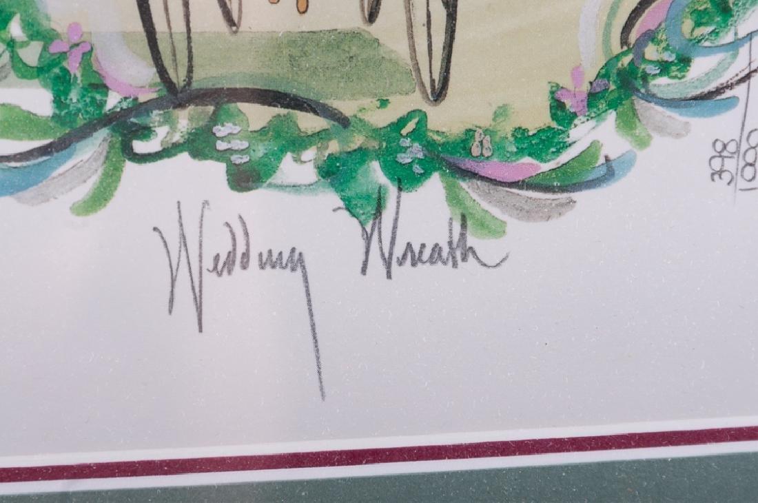 "P. Buckley Moss ""Wedding Wreath"" 398/1000 - 6"