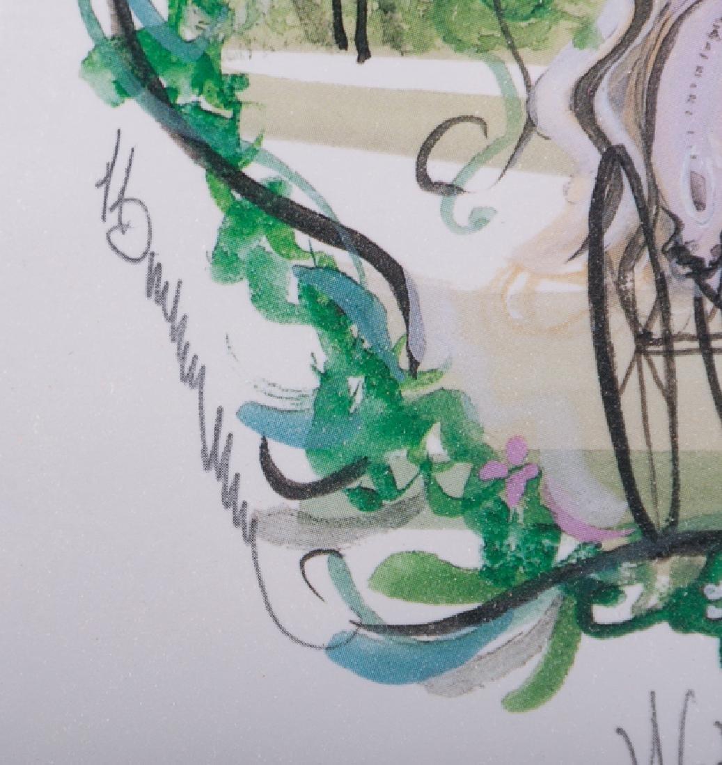 "P. Buckley Moss ""Wedding Wreath"" 398/1000 - 7"