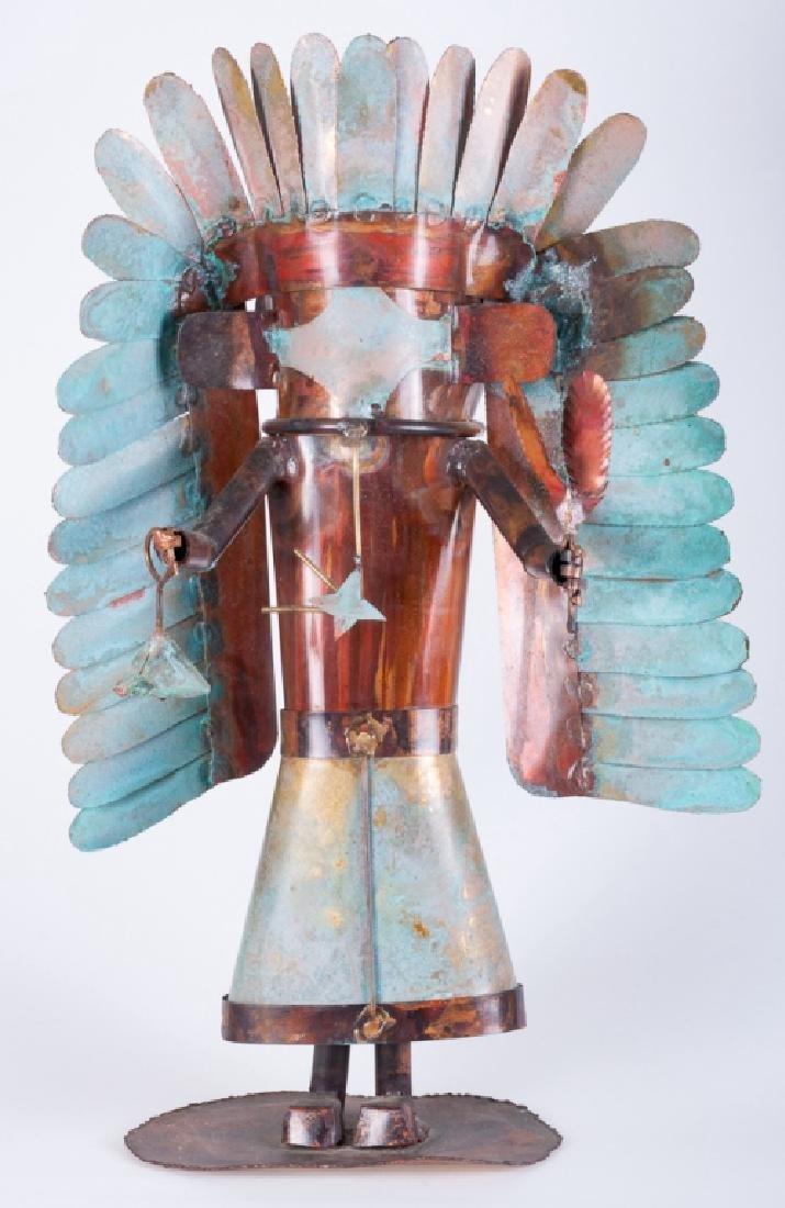 Dale Anderson Copper Sculpture