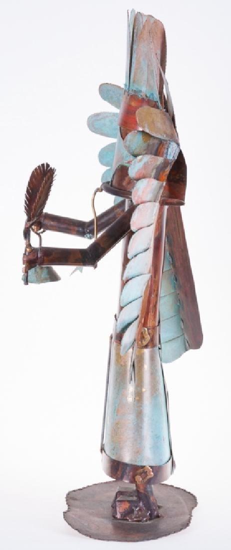 Dale Anderson Copper Sculpture - 2