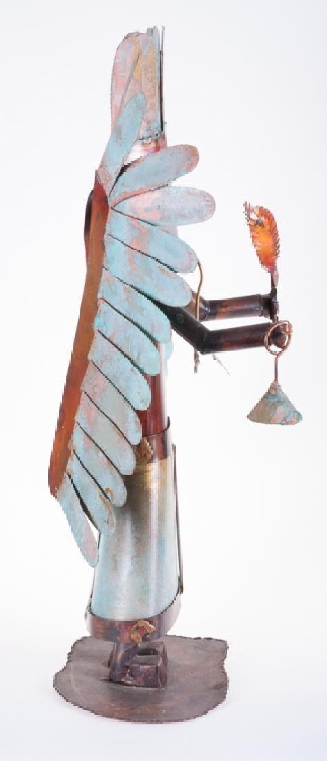 Dale Anderson Copper Sculpture - 4