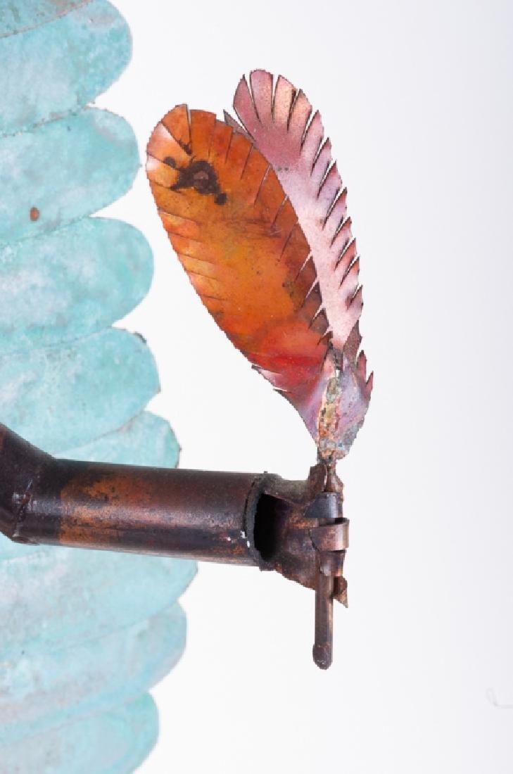 Dale Anderson Copper Sculpture - 5