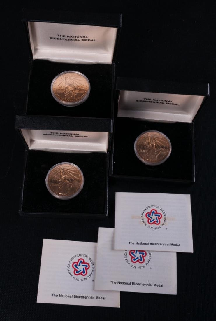 National Bicentennial Medals Trio