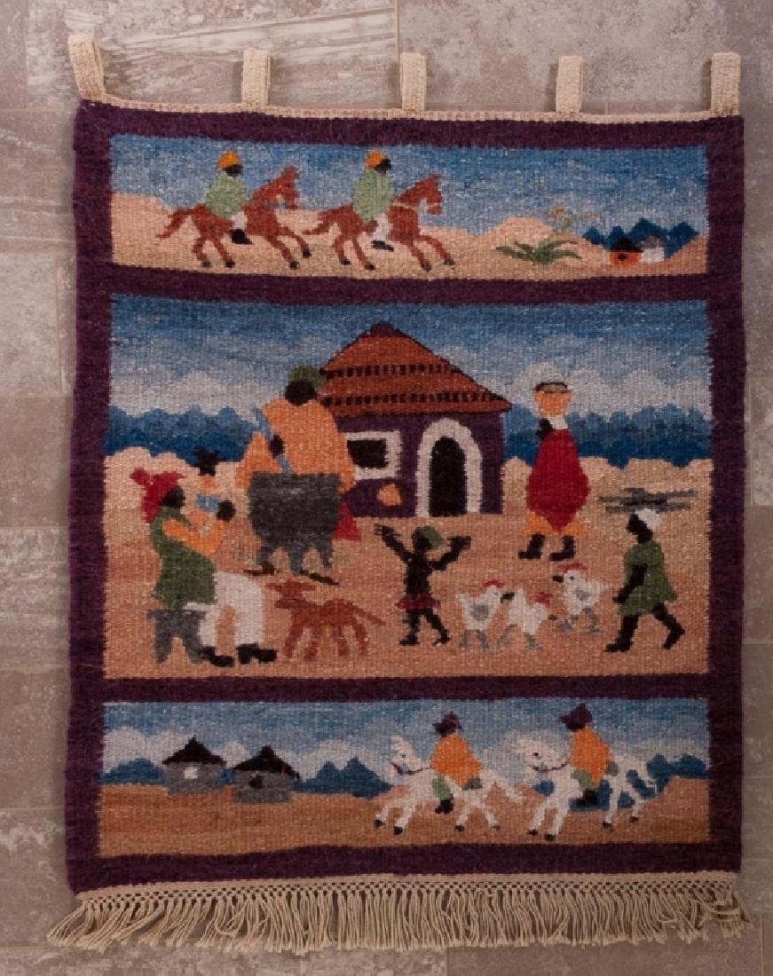 Lesotho, South Africa Pictorial Wall Hanging
