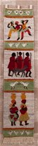 Lesotho, South Africa Pictorial Wall Hanging - 3