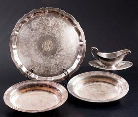 Gorham Silver Plate Serving Piece Collection