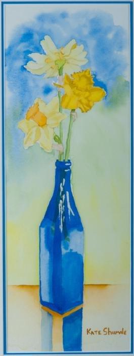 Kate Shumate Still Life Watercolor