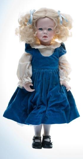 """Hilary"" Doll By Dianna Effner"