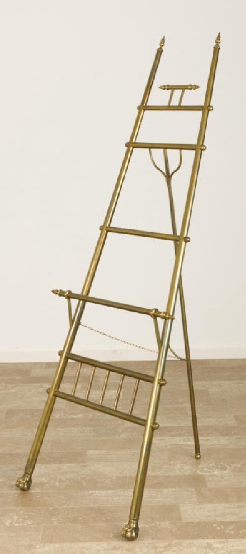 Brass Ball & Claw Easel