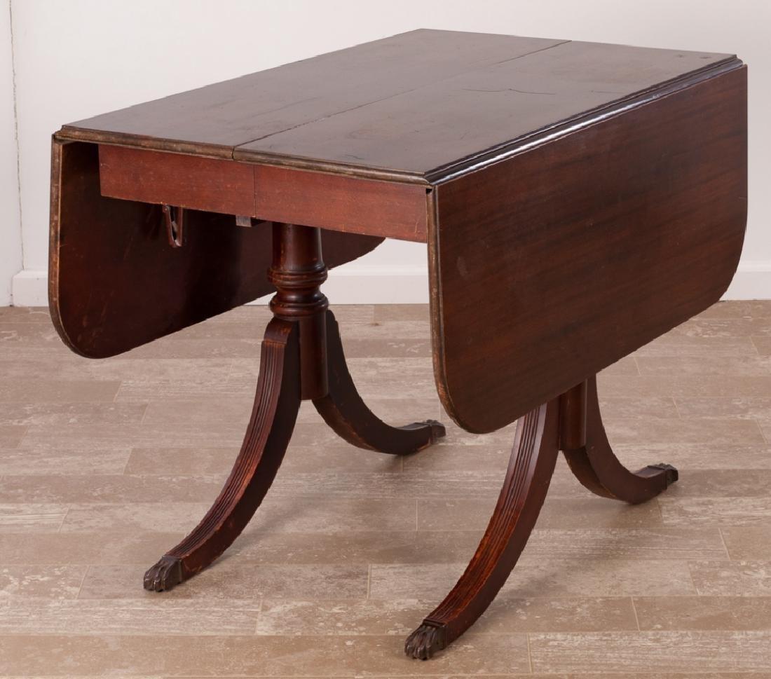 Brandt Duncan Phyfe Style Drop Leaf Table