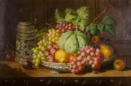 Charles Thomas Bale Still Life Oil on Canvas