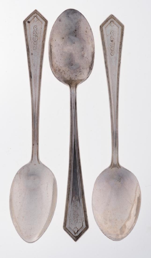 Alvin Manufacturing Co. Sterling Spoons Trio